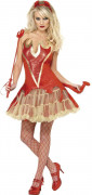 Sexy Teufelinnen-Kostüm Halloween für Damen