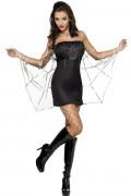 Spinnen-Kostüm für Damen Halloween