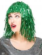 Perücke für Damen grün 25cm