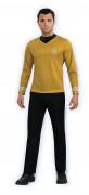 Star Trek™ Herrenkostüm goldfarben
