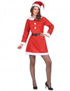 freches Weihnachtsfrau-Kostüm für Damen