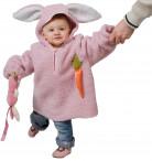 Hasenkostüm rosa für Kinder