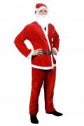 Weihnachtsmann Kostüm für Herren