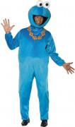 Kostüm Krümelmonster aus der Sesamstraße™ für Erwachsene