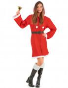 Weihnachtsmann-Kostüm für Damen