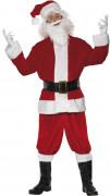 Weihnachtsmann-Kostüm Deluxe für Erwachsene
