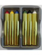 Make-up Stifte 6-teilig bunt 9,6g