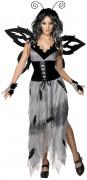 Schmetterlings-Kostüm Halloween für Damen