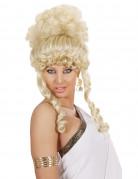 Blonde Göttin-Perücke für Damen.