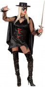 Banditen-Kostüm für Damen