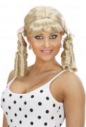 Blonde Lolita-Perücke für Damen