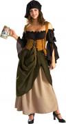 Luxuskostüm einer Wirtin für Damen