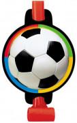 Partytröten Fußball-Motiv