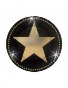 Mini-Teller Gold und Sterne