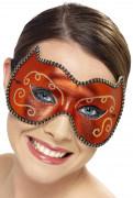 Wolfs-Maske rot für Erwachsene