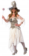 Zauberhexen-Kostüm Deluxe für Damen