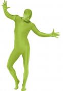 Zweite Haut Kostüm Grün für Erwachsene