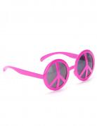 Hippie-Brille Rosa für Erwachsene