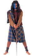 Schottischer Krieger-Kostüm