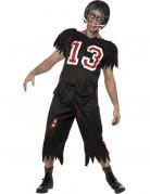 Zombie-Kostüm Americain Football für Erwachsene