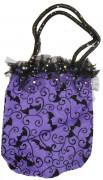 Handtasche violett Halloween