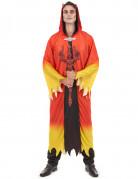Dämonisches Teufel-Kostüm für Herren rot-gelb