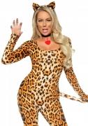 Leopard-Kostüm Sexy für Damen