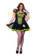 Sexy Bienenkostüm für Damen