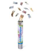 Konfetti Kanone mit Geldscheinen