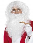 Rauschebart Weihnachtsmann-Set für Erwachsene