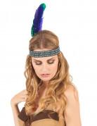 Indianer Kopfschmuck für Erwachsene mit Federn