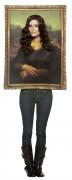 Mona Lisa Gemälde Kostüm für Erwachsene