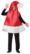 Weihnachtsmann-Mützen-Kostüm für Erwachsene