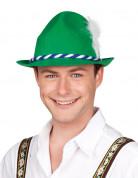 Bayrischer Hut für Herren mit Feder grün