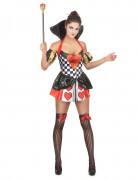 Herzkönigin-Kostüm für Damen Dortmund
