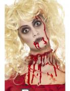 Schminkset für Erwachsene Zombie rot-weiß-schwarz