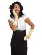 Handschuhe gold für Damen