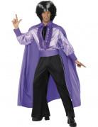 Disco Vampirkostüm für Herren violett