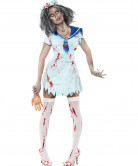 Zombie-Seemann Damenkostüm Halloween