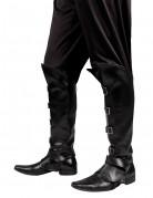 Schwarze Stiefelüberzieher