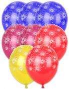 8 Feuerwerk-Luftballons