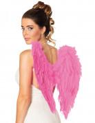 Flügel rosa für Erwachsene 50x50 cm