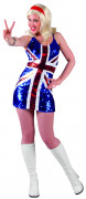 Großbritannien-Kostüm für Damen