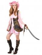Luxus-Piratinnen-Kostüm für Damen