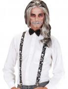Totenkopf-Hosenträger für Erwachsene