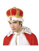 Königs-Kopfbedeckung für Erwachsene