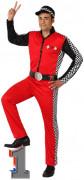 Rennfahrer-Kostüm für Herren