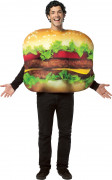 Hamburger-Kostüm für Erwachsene