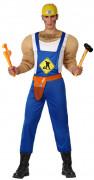 Muskulöses Bauarbeiter-Kostüm für Herren