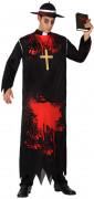 Zombie Mönch Kostüm für Herren